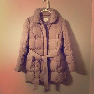 Loft Taupe Winter Coat